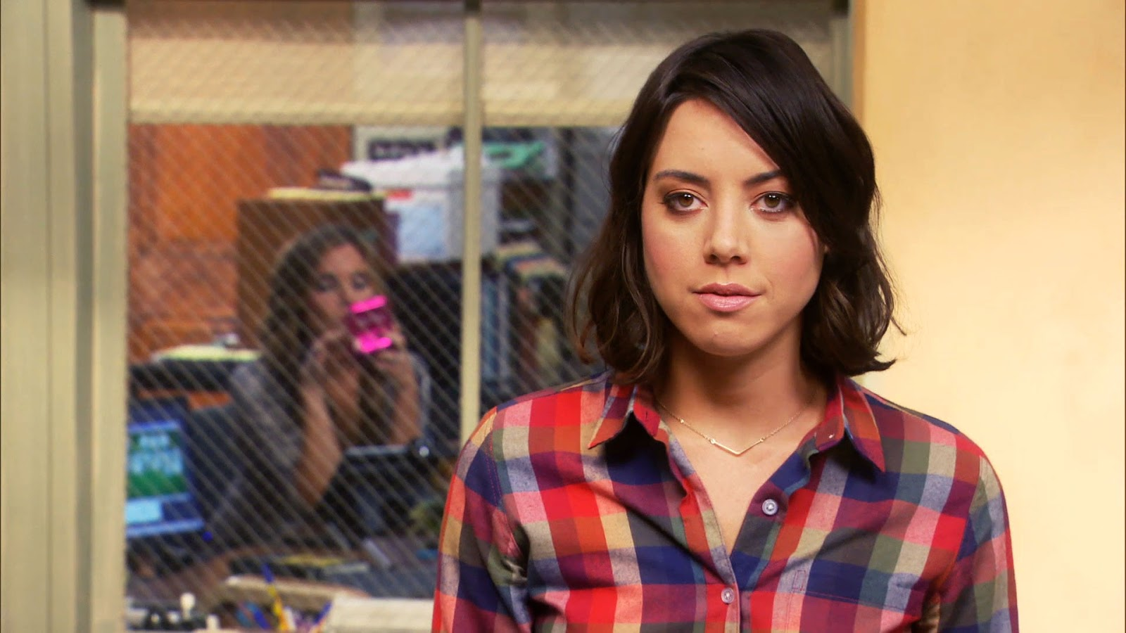 April Ludgate durante la sexta temporada de Parks And Recreation