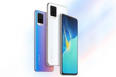 Desain Smartphone Vivo S7 5G