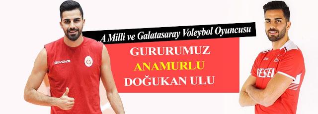 SPOR, Anamur Haber, MANŞET, Doğukan Ulu,A Milli ve Galatasaray Voleybol Oyuncusu  Doğukan Ulu