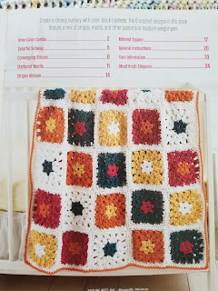 Crochet Baby Blankets with Block Patterns