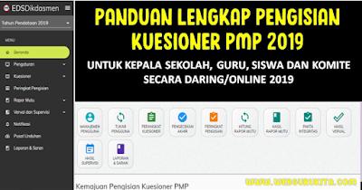 Panduan Pengisian PMP untuk Kepala Sekolah, Guru, Siswa dan Komite Secara Online 2019