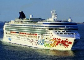 Norwegian Cruise Line's Norwegian Gem Sailing From New York to Florida and the Bahamas