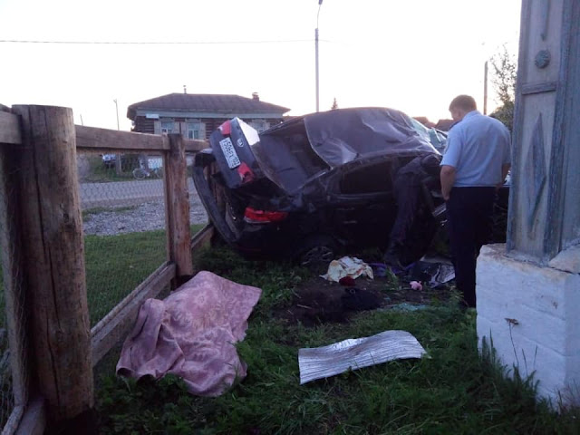 В Белорецком районе иномарка залетела во двор и сбила бабушку