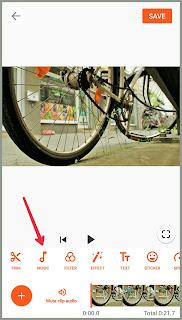 cara menambahkan musik di video