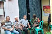 Babinsa Melaksanakan Komunikasi Sosial Dengan Masyarakat Desa