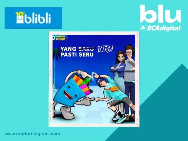 blibli exclusive partner blu