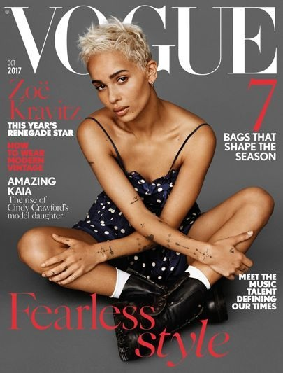 Intro December 2017 issue of British Vogue, out 10 Nov, new editor fully responsible Edward Enninful, what he says/plans, Vogue ethos, looking back at fave covers from the archive: