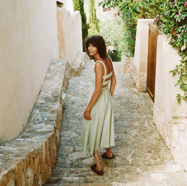 زارا - Zara - فستان ريفي