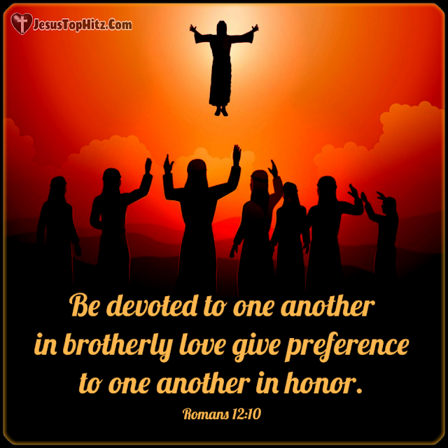 Be Devoted To One Another... Bible Verse Love...