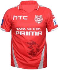 Kings XI Punjab (KXIP) Jersey