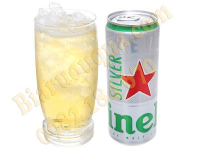 Thưởng thức bia Heineken Silver