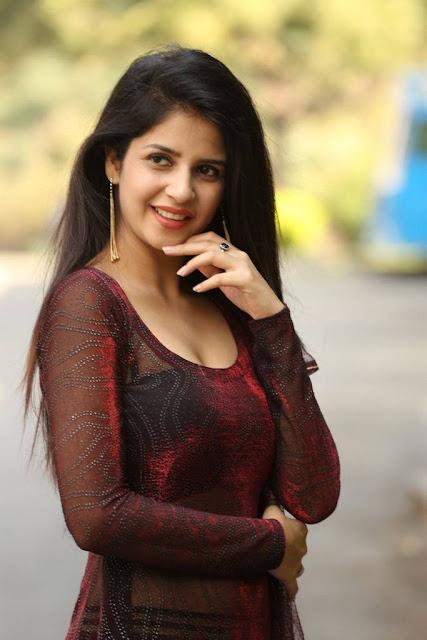 Kashish Vohra Stills At Sapthagiri LLB Movie Success Meet