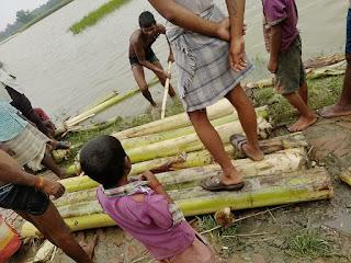 Flood in darbhanga/ biraul