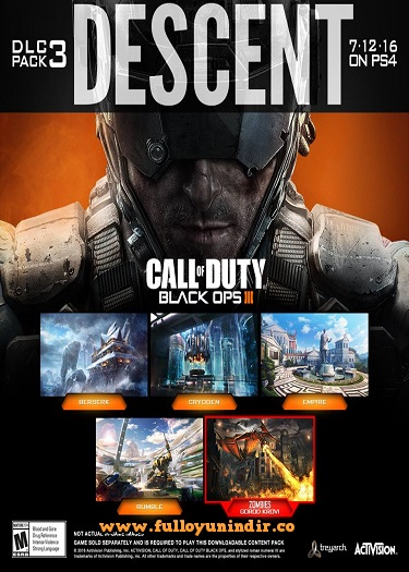 Call of Duty: Black Ops III - RELOADED Descent DLC