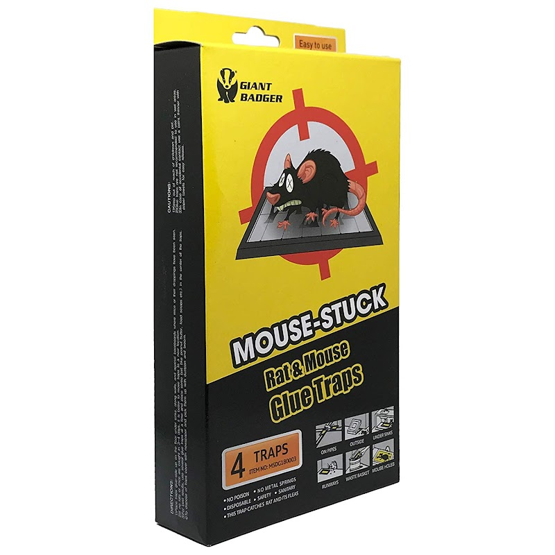 AMAZON - 50% Off  Mouse Trap X-Large Pack of 4 Trap and Toss