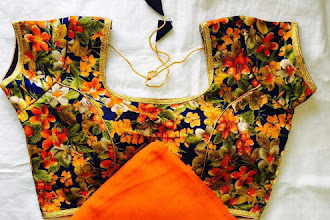 Pure Georgette sarees with zari border