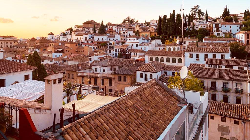 Visit Granada on your Bike trip