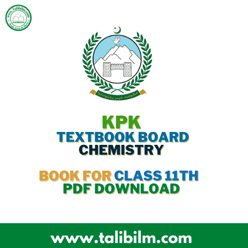 KPK Textbook Board Chemistry Book For Class 11th
