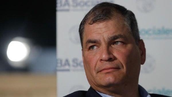 Tribunal ecuatoriano rechaza recusación de Rafael Correa contra jueces en caso de sobornos