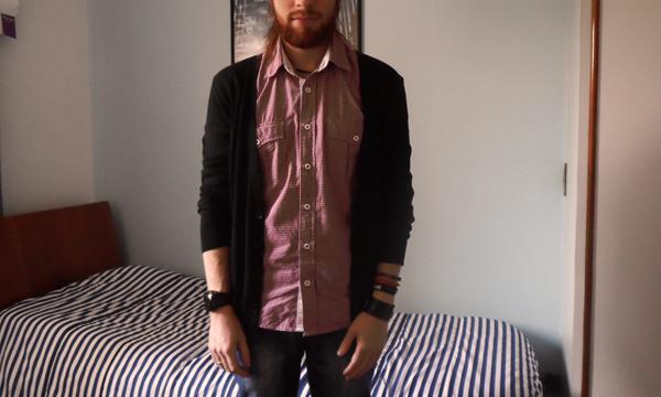 Camisa Pool (Riachuelo) Calça Jeans Skinny Clock House (C A) Bota Masculina  Democrata Garage (Coleção 2012) c4d4ebc9f2