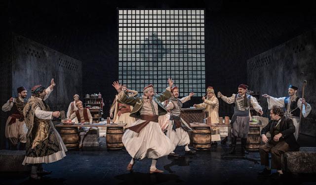 """Η """"Βαβυλωνία"""" του Δημητρίου Βυζάντιου σε live streaming από την Κεντρική Σκηνή του Εθνικού Θεάτρου"""