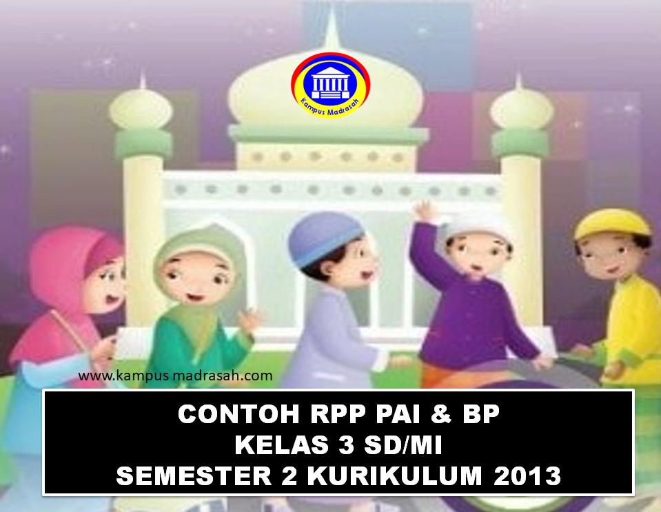 RPP 1 Lembar Mapel PAI Dan BP Semester 2