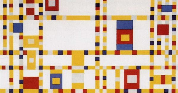 Boogie Mondrian Stijl De Woogie