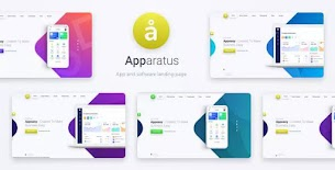 Apparatus | A Multi-Purpose One-Page Portfolio and App Landing Theme 1.4 - Responsive Blogger Template