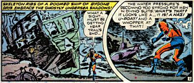 Detective Comics #440, Manhunter in the sea