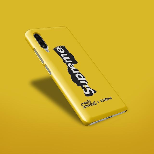 Mockup Custom Case 3D Samsung Galaxy A90 5G Gratis