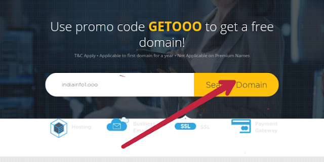 How to buy ooo domain and setup in blogger