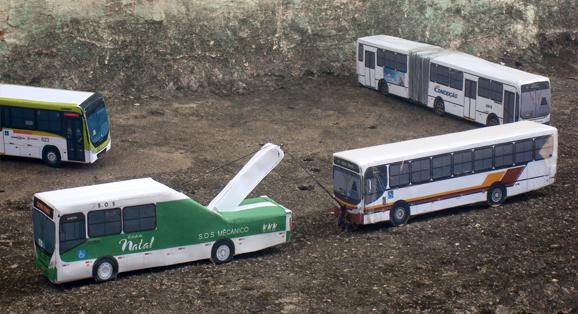 Em Miniaturas PB Transforma Miniatura Ônibus em Miniatura Guincho, Confiram!
