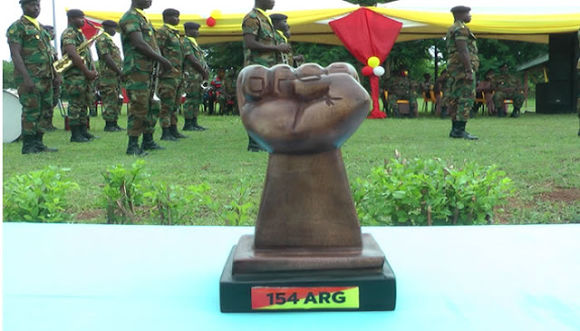 Ghana Armed Forces outdoors 154 Armoured Regiment 2