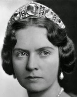 aquamarine kokoshnik tiara sweden princess sibylla