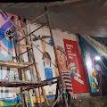 Empat Partisipan Mewakili BOS TATTO Bitung Ikuti Lomba Mural di Terminal Tangkoko