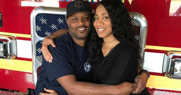 Korboi and Twyana Balla, owners of Scores Sports Bar in Minneapolis that burned down