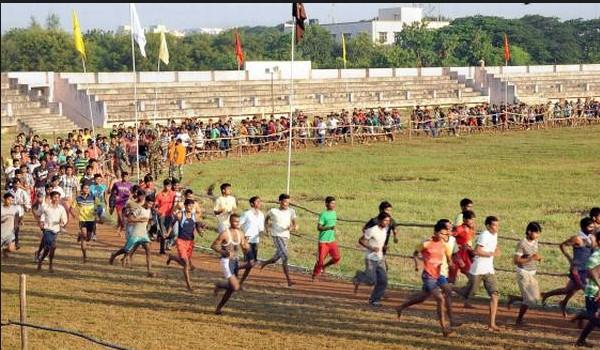 Hailakandi  Army Rally, Indian Army Rally, Open Bharti Rally