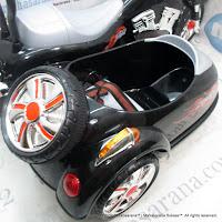 Motor Mainan Aki Pliko PK1878N Motor Gandeng