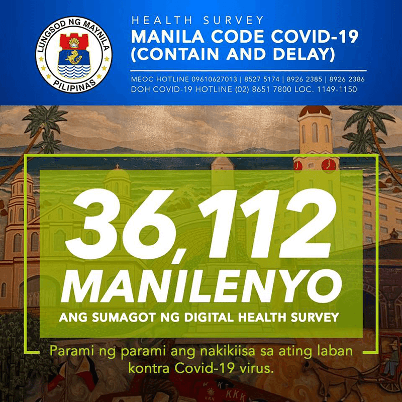 Yorme and PLDT launched an online health survey related to COVID-19