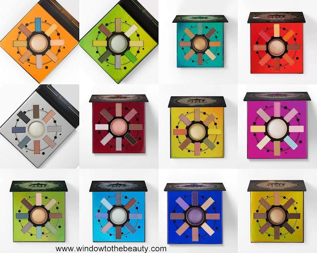 Bh Cosmetics wszystkie mini zodiakowe palety