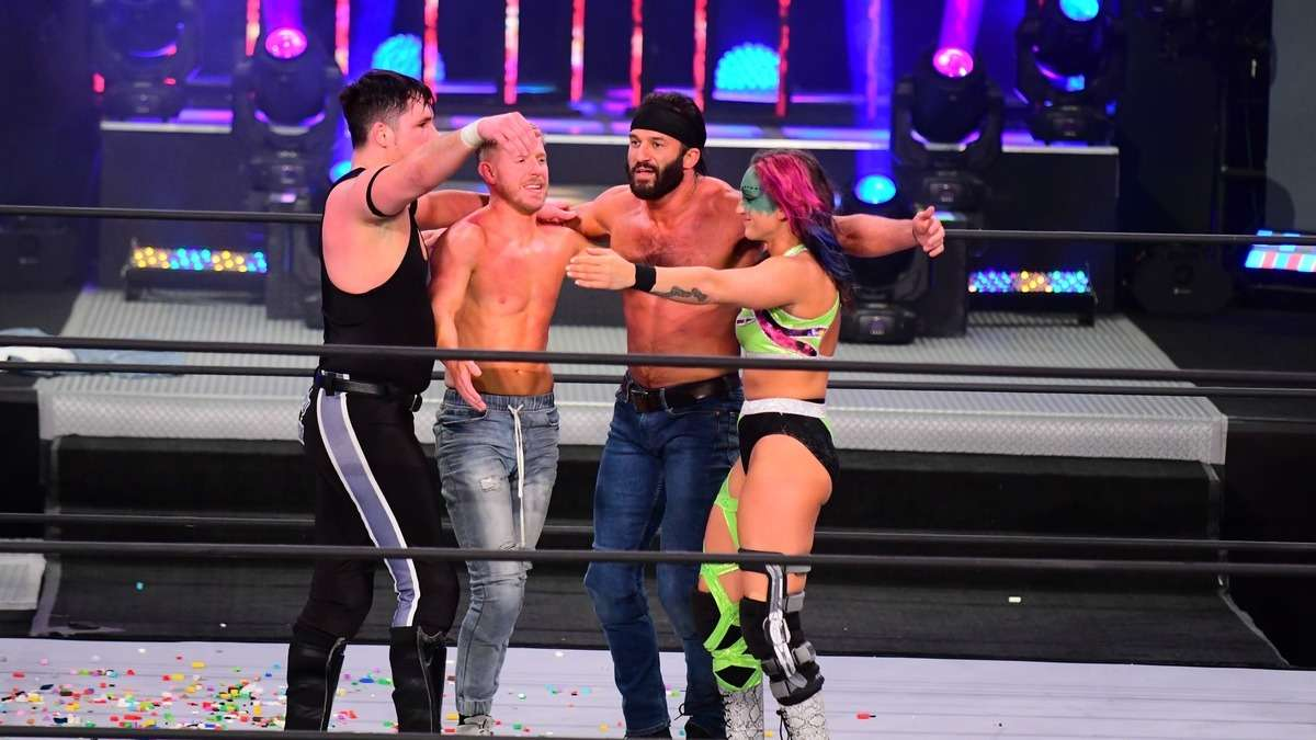 Trent e Kris Statlander retornam ao AEW Dynamite