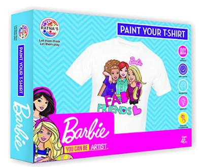 Barbie Design Paint Your T-Shirt