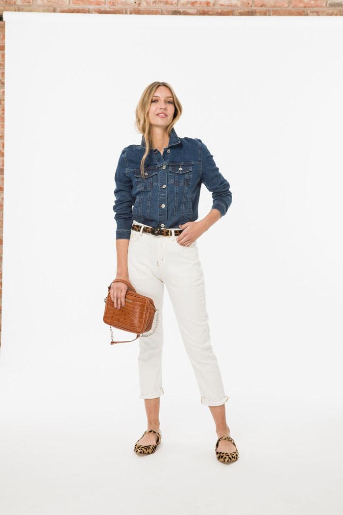 Moda verano 2020 pantalones blancos 2020.