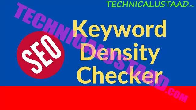 Keyword Density Checker-Prominence & Proximity (On Page SEO)