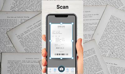 أفضل تطبيق اندرويد لتصوير المستندات و الأوراق Tap Scanner