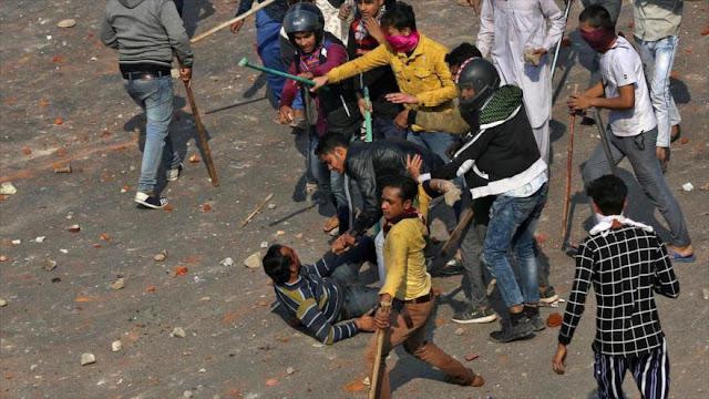 HRW denuncia violencia y persecución contra musulmanes en La India