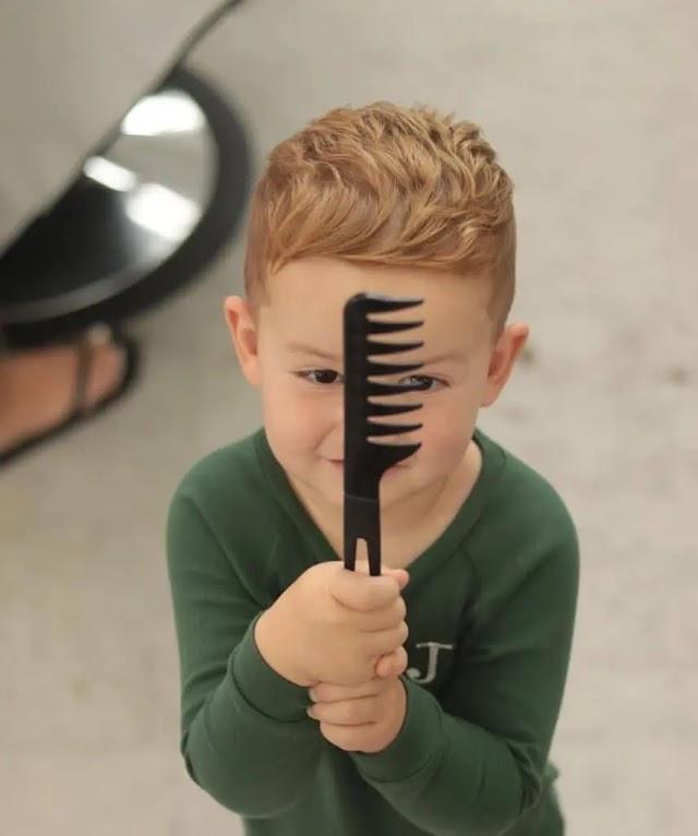 Erkek Çocuk Saç Kesim Modelleri Nelerdir ? >>>