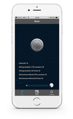 Coin ICO Electroneum -  Coin đầu tiên có thể đào bằng điện thoại