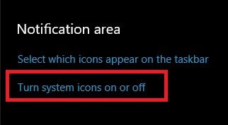 حل مشكلة إختفاء أيقونة الصوت والأنترنت والبطارية من شريط المهام في الويندوز 10
