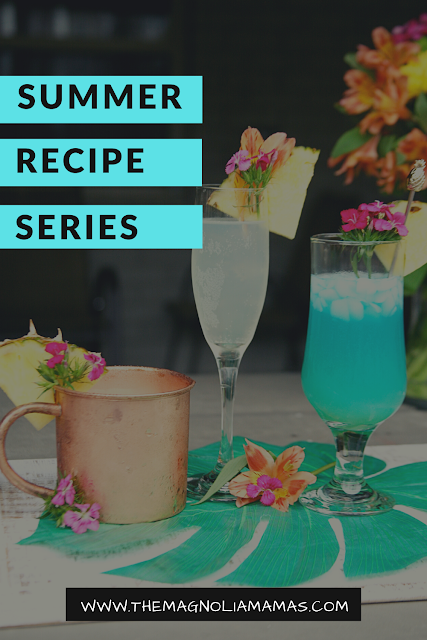 Magnolia Mamas Blue Hawaiian Drink Recipe